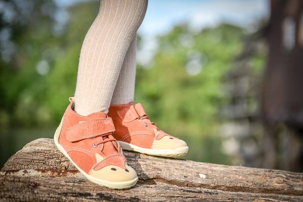 líštičky barefoot alternatíva bare bear detské topánky líšky