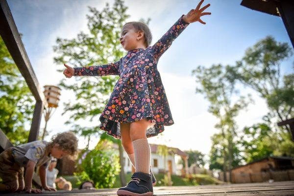 modroružové barefoot alternatíva detské topánky vyrobené na slovensku bare bear
