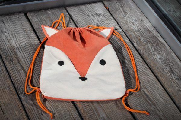 ruksak líška handmade batoh vyrobený na Slovensku