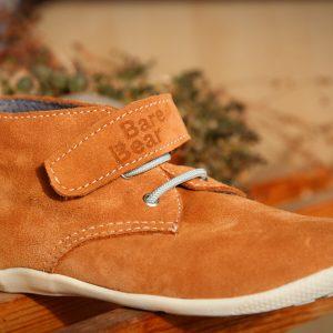 hnedá mint barefoot alternatíva detské topánky vyrobené na slovensku bare bear